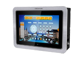 8 inch flush mounted wired PIP programmable touch